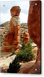 Devil's Kitchen Acrylic Print by Anne Back