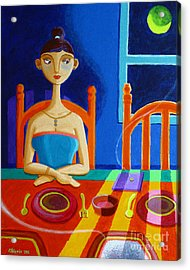 'di Parang Kaning Mainit Acrylic Print by Paul Hilario