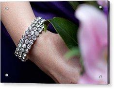 Diamonte Bracelet Acrylic Print