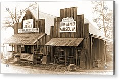 Dick Huddleston Store Est. 1909 Acrylic Print by Douglas Barnard