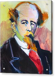 Dickens Acrylic Print by Les Leffingwell