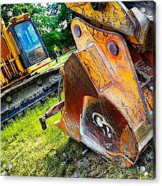 Did You Just Call Me A Digger ;-) Acrylic Print