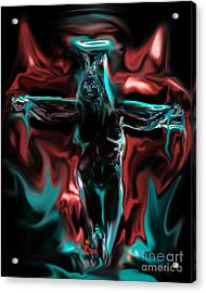 Die 4 Your Sins Acrylic Print by Tbone Oliver