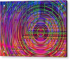 Acrylic Print featuring the digital art Digets by David Pantuso