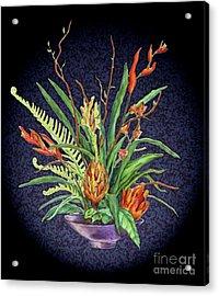 Digital Flowers Acrylic Print