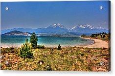 Dillon Lake Acrylic Print by Sergio Aguayo