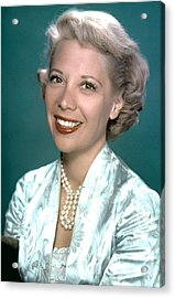 Dinah Shore, Ca. 1950s Acrylic Print by Everett