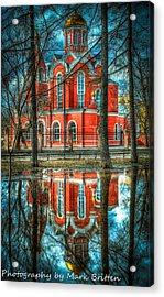 Dinamo Church Acrylic Print by Mark Britten