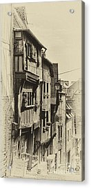 Acrylic Print featuring the photograph Dinan Antique I by Jack Torcello