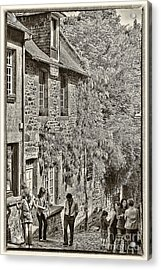 Acrylic Print featuring the photograph Dinan Antique II by Jack Torcello