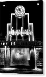 Diner At Night Acrylic Print by Steven Ainsworth