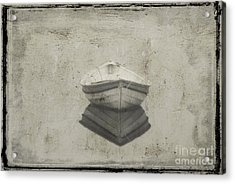Dinghy Acrylic Print by Jim Wright