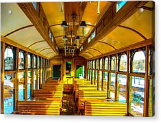 Acrylic Print featuring the photograph Dining Car by Shannon Harrington