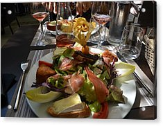 Dinner Is Served Acrylic Print by Dany Lison