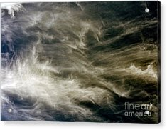 Acrylic Print featuring the photograph Dirty Clouds by Clayton Bruster
