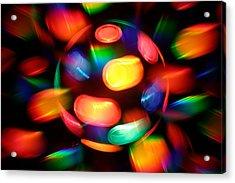 Disco Burst Acrylic Print by Nicolas Raymond