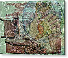 Discovery Of America Acrylic Print by Paulo Zerbato