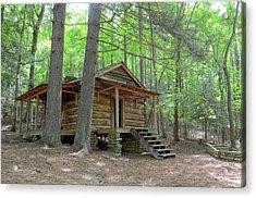 Disharoon Cabin Acrylic Print by Bob Jackson