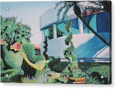 Disney Epcot Topiary Acrylic Print