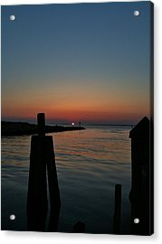 Acrylic Print featuring the photograph Dissolving Day by Lori Ippolito