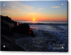 Acrylic Print featuring the photograph Distant Shore by Everett Houser