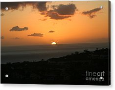 Distant Sunset Acrylic Print