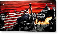 Distress Acrylic Print by Monday Beam