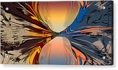 Divided In Fact Acrylic Print