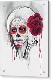 Divine Acrylic Print by Diana Shively