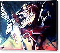 Divine Madness Acrylic Print