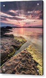 Divine Sunset Acrylic Print by Evgeni Dinev