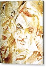 Django Reinhardt Acrylic Print by Jaabi Faarai