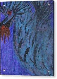 Do Not Dare The Dragon Acrylic Print