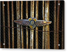 Dodge Brother Emblem Acrylic Print by Penny  Ryan