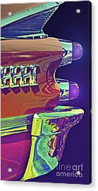 Dodge Custom Royal Acrylic Print by Gwyn Newcombe