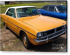 Dodge Dart Swinger . 7d15255 Acrylic Print by Wingsdomain Art and Photography