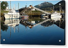 Does Anyone Have A Mirror Acrylic Print by Susan Stephenson
