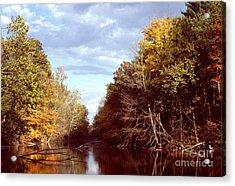 Acrylic Print featuring the photograph Dogleg Lake by Jack R Brock