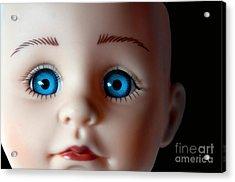 Doll Eyes Acrylic Print by Dan Holm