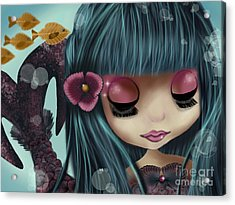 Doll From The Sea Acrylic Print