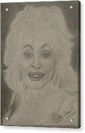 Dolly Parton Acrylic Print
