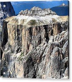 Dolomites Mountains Acrylic Print