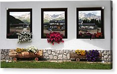 Dolomiti On Spring Acrylic Print by Tommaso Olivieri