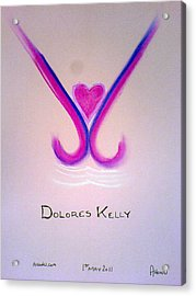 Dolores Kelly Acrylic Print