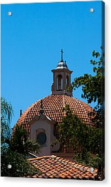 Acrylic Print featuring the photograph Dome At Church Of The Little Flower by Ed Gleichman