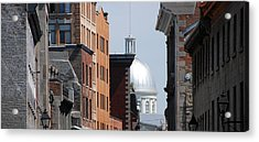 Acrylic Print featuring the photograph Dome Bonsecours Market by John Schneider