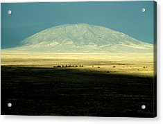 Acrylic Print featuring the photograph Dome Mountain by Brent L Ander