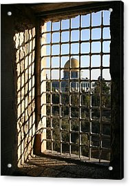 Dome Of The Rock Acrylic Print by Tia Anderson-Esguerra