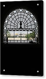 Dominus Flevit Church Mount Of Olives Acrylic Print by Jennifer Kathleen Phillips