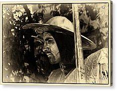 Acrylic Print featuring the photograph Don Quixote Antique by Rick Bragan